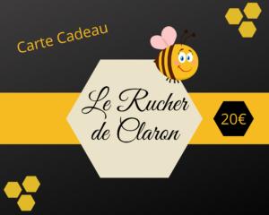 Carte cadeau Rucher de Claron
