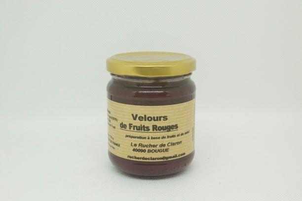 velours fruits rouges rucher claron