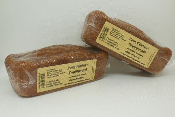 pain épices miel landes rucher claron